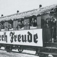 Nazilerin İşçileri Motive Etmek İçin Uyguladığı Eğlence Programı: Kraft Durch Freude