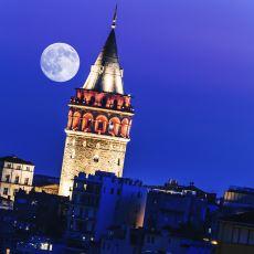 Dün Gece Türkiye'nin Dört Bir Yanından Çekilen Süper Ay Fotoğrafları