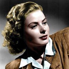 Bir Dönem Hollywood'un En Popüler Aktrisi Olan Ingrid Bergman'ın Hayatı ve Kariyeri