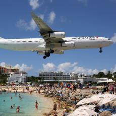 Avrupa'da Ortak Sınırları Olmayan Hollanda ve Fransa'yı Karayiplerde Komşu Yapan Sint Maarten Adası