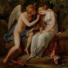 Yunan Mitolojisinden Psykhe ve Eros'un Sevgi ile Ruhun Ayrılamayacağını Kanıtlayan Hikayesi