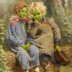 1100'lü Yıllarda Aniden Ortaya Çıkan İki Yeşil Çocuğun Gizemi Hala Çözülememiş Hikayesi