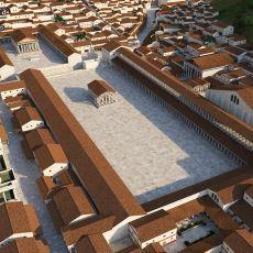 Efes Antik Kenti'nin İnsanı O Döneme Götüren 3 Boyutlu İllüstrasyonları