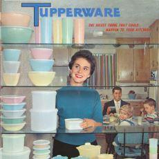 Mutfak Konusunda Annelerin Vazgeçilmezi Olan Tupperware'in İlginç Tarihi