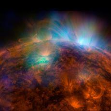 Güneş'e Aynı Hacimde Buz Kütlesi Çarpsa Ne Olur?