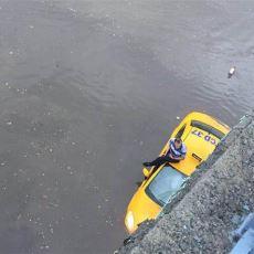 İstanbul'un Dört Bir Yanından Sosyal Medyaya Yansıyan İnanılmaz Yağmur Manzaraları