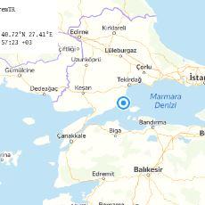 Dün Gece Marmara'da Meydana Gelen 4.3'lük Deprem Hakkında Bilinmesi Gerekenler