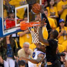 LeBron James'in Andre Iguodala'ya Yaptığı Şampiyonluk Getiren Blok