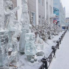 Kışın Termometrelerin -60'ları Gördüğü Dünyanın En Soğuk Şehri Yakutsk İle İlgili 'Üşüten' Detaylar