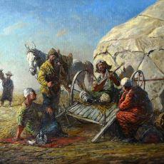 Yüzlerce Yıl Önce Orta Asya'da Yaşayan Türkler Nasıl Giyiniyordu?