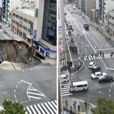 Metro Çalışması Nedeniyle Çöken Yolu Çok Kısa Sürede Onaran Japonlar
