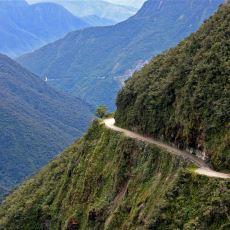Bolivya'da Her Yıl Yüzlerce Kişinin Hayatını Kaybettiği Ölüm Yolu: Yungas Road