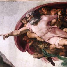 """""""Adem'in Yaratılışı"""" Adlı Ünlü Resimde Fark Edilemeyen Detay"""