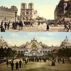 1890'lar Paris'ini HD ve Renkli Şekilde Görebileceğiniz Şaşırtıcı Bir Video