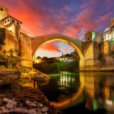 Mimar Hayreddin Tarafından Bosna Hersek'e İnşa Edilen Şahane Yapı: Mostar Köprüsü