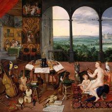 17. Yüzyılın Her Biri Beş Duyuyu Simgeleyen İncelikli Tablo Dizisi: Allegory of the Five Senses