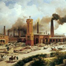 Gelir Adaletsizliği ve Şehir Yaşamını Meydana Getiren Büyük Sanayi Devriminin Tarihi