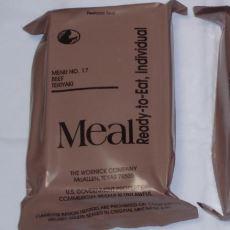 Zor Durumlarda ABD Ordusunun Besin İhtiyacını Karşılamak Üzere Geliştirilen Yemek Paketi: MRE