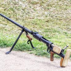 22 Gün İçinde Yapılıp Seri Üretime Geçen Sovyet Anti-Tank Tüfeği: PTRD 41
