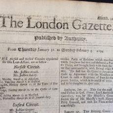 """İngiliz The London Gazette'nin 24 Temmuz 1683 Tarihli """"Türkler Viyana'da"""" Haberi"""
