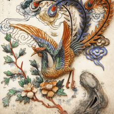 Efsanevi Simurg Kuşunun Öyküsü