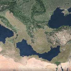 Yaklaşık 6 Milyon Yıl Önce Akdeniz'in Neredeyse Tamamının Kuruması