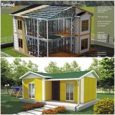 Prefabrik, Betonarme ve Çelik Konstrüksiyonlu Evler Arasındaki Farklar