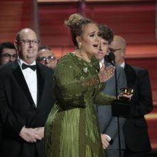 Adele'in Damga Vurduğu Gecede 59. Grammy Ödülleri Sahiplerini Buldu