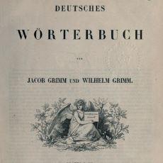 Oxford İngilizce Sözlüğü'nün İlhamı Olan 330 Bin Kelimelik Alman Sözlüğü: Deutsches Wörterbuch