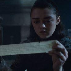 GoT'un 7. Sezon 5. Bölümünde Arya'nın Okuduğu Mektupta Ne Yazıyordu?