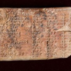 Keşfiyle Babillilerin Trigonometriyi Yunanlılardan Önce Bulduğu İhtimalini Artıran Tablet: Plimpton 322