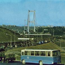 Boğaziçi Köprüsü'nün Dayanma Gücünü Hesaplamak İçin Yapılan Statik Yükleme Deneyi