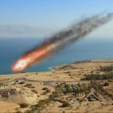 3700 Yıl Önce Lut Gölü Civarına Düşüp Tüm Yaşamı Yok Eden Meteor