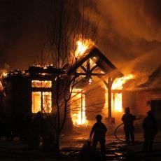Hızlıca Söndürülmüş Bir Yangının Bile Betonarme Yapılara Verdiği Ciddi Zarar