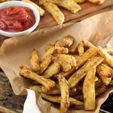 Dışarda Yemeye Bayıldığımız Çıtır Çıtır Patateslerin Evde Yapım Formülü
