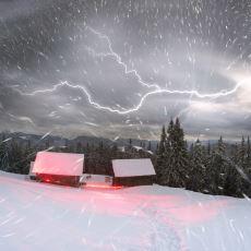 Kar Yağarken Nadiren de Olsa Neden Gök Gürler?