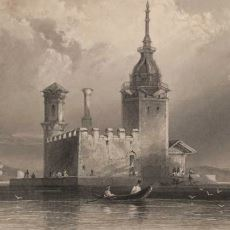 Bir Zamanlar Güvenlik Amacıyla Kullanılan Simge Yapı Kız Kulesi'nin Tarihi