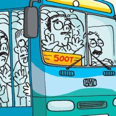 Üzerinde Güneş Batmayan Efsane Otobüs Hattı: 500T