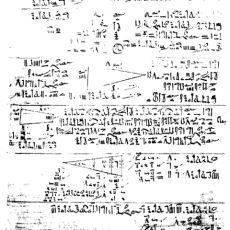 Milattan Önce Yazılmış ve Antik Mısır Matematiğinin Temellerini Oluşturan Kitap: Rhind Papirüsü
