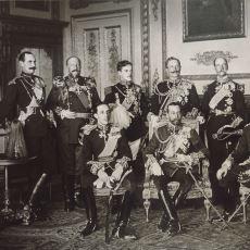 1910 Yılında 9 Kralın Beraber Çektirdiği Fotoğraf