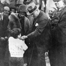 Atatürk'ün Çocuk Sevgisinin Yalansız, Riyasız, Samimi Olduğunu Gözler Önüne Seren Fotoğraflar