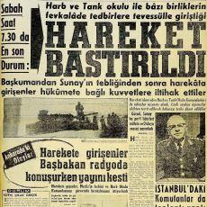 Cumhuriyet Tarihimizin İlk Başarısız Darbe Girişimi: 22 Şubat 1962