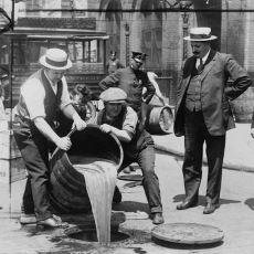 ABD'de 1919-1933 Arası Alkolün Bayağı Bayağı Yasak Olması