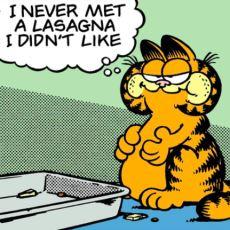 Garfield'ın 43 Yılda Minimum 100.000 Tane Lazanya Yemiş Olması