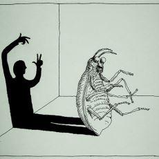 Kafka'nın Böceğe Evrilen Bir Karakterden Bahsettiği Dönüşüm Kitabının Psikolojik Okuması