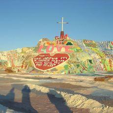 Tamamen İnsan Eliyle Yapılmış, Rengarenk Görünümlü Bir Dağ: Salvation Dağı
