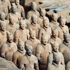 Yapımından 2200 Sene Sonra Bulunan Topraktan Yapılmış Dev Ordu: Terracotta Savaşçıları