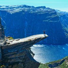 """Norveç'in En Meşhur Manzarası """"Trolltunga""""ya Gideceklere Tecrübelisinden Tavsiyeler"""
