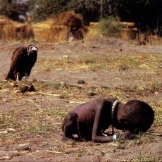 Kevin Carter'a Pulitzer Ödülü ve İntihar Getiren Meşhur Akbaba - Çocuk Fotoğrafı
