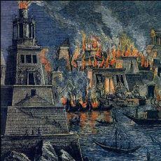 Yakılmasıyla İnsanlığı Bir Gecede Cahil Bırakan Devasa Yapı: İskenderiye Kütüphanesi